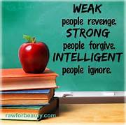 Strong people Forgive